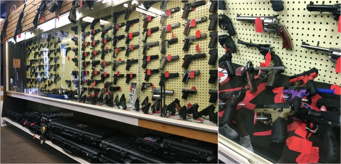 Gun Store in Washington D.C.