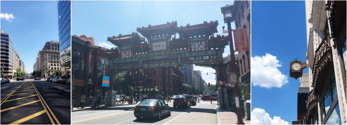Street view Downdown and Chinatown
