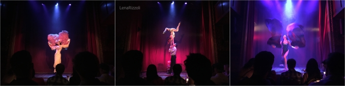 Burlesque Show at Slipper Room in the Lower East Side Manhattan