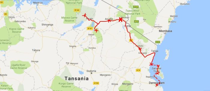 10 days surviving in Tanzania