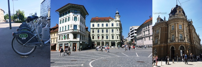 Ljubljana city center, Slowenia
